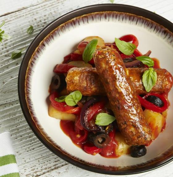 Vegan Italian Sausage Stew