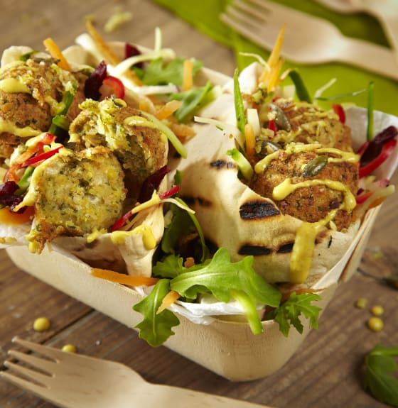 Falafel Doner Salad Box
