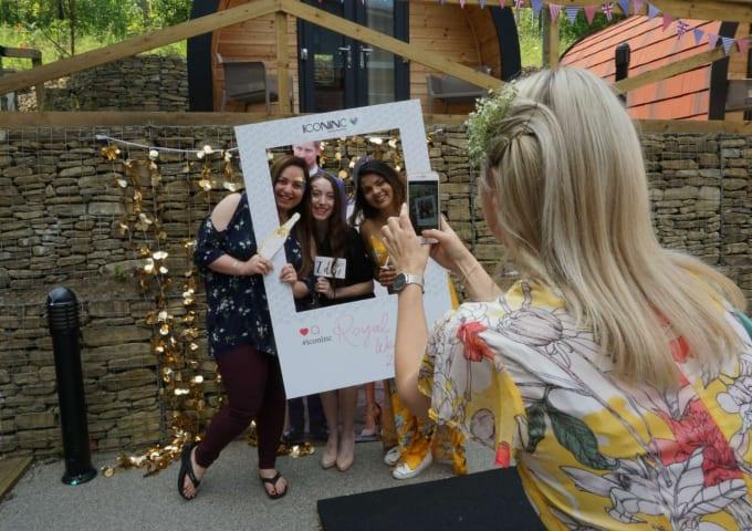 Celebrating The Royal Wedding At IconInc's Summer Party