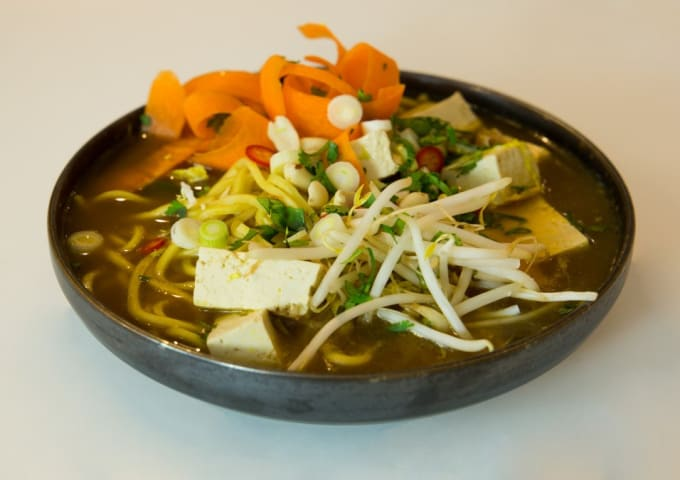 Vegan ramen by Chris Hale, created exclusively for IconInc.