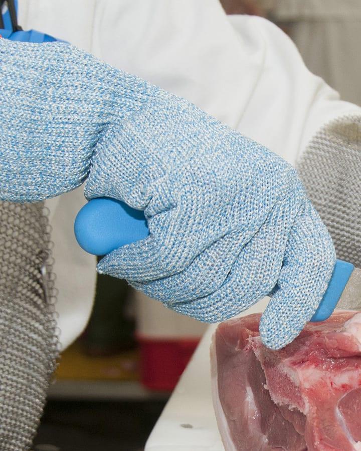 407b cut resistant level F mediumweight antimicrobial food glove