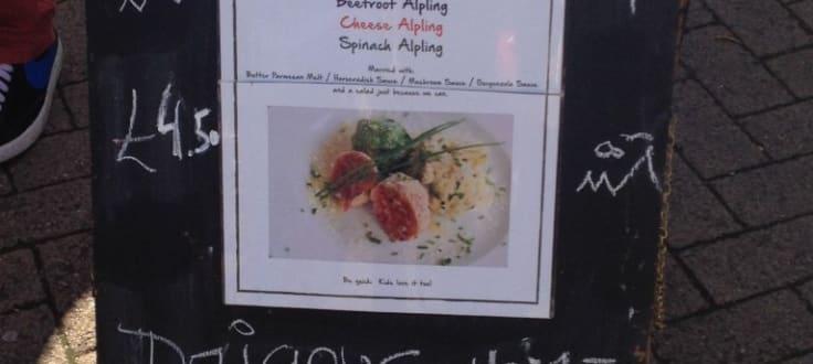 Food options at Alplings