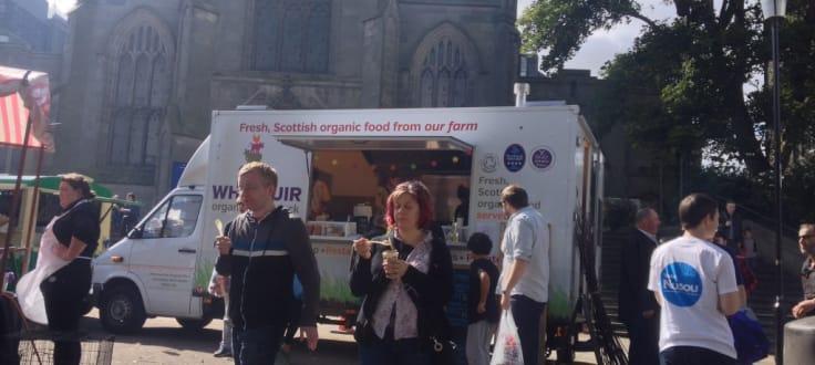 Whitmuir Organic Farm Food Truck