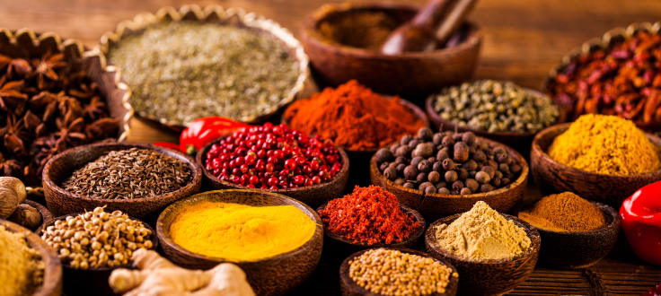Indonesian spices for cooking