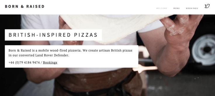 Born & Raised Pizza