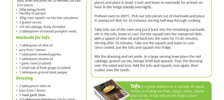 Cauldron organic Tofu additions