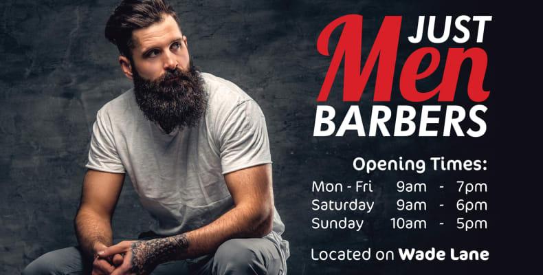 View Previous Slide Next Just Men Barbers