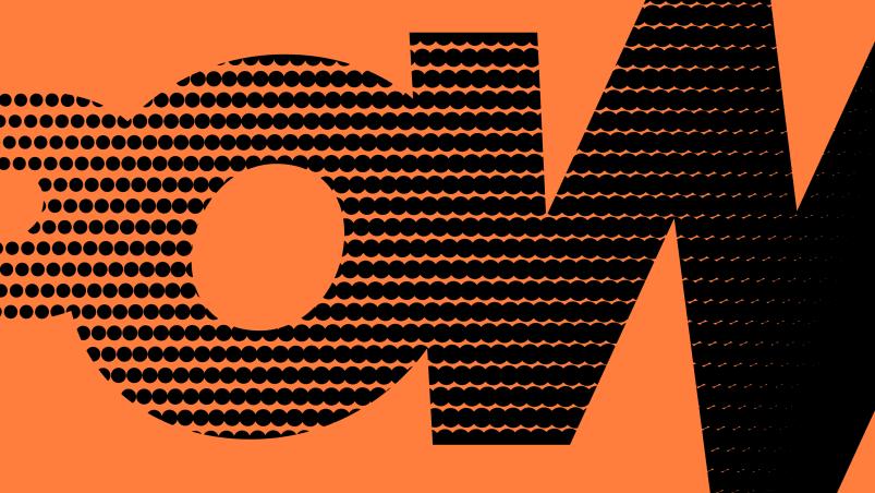 Pow sports nutrition brand identity
