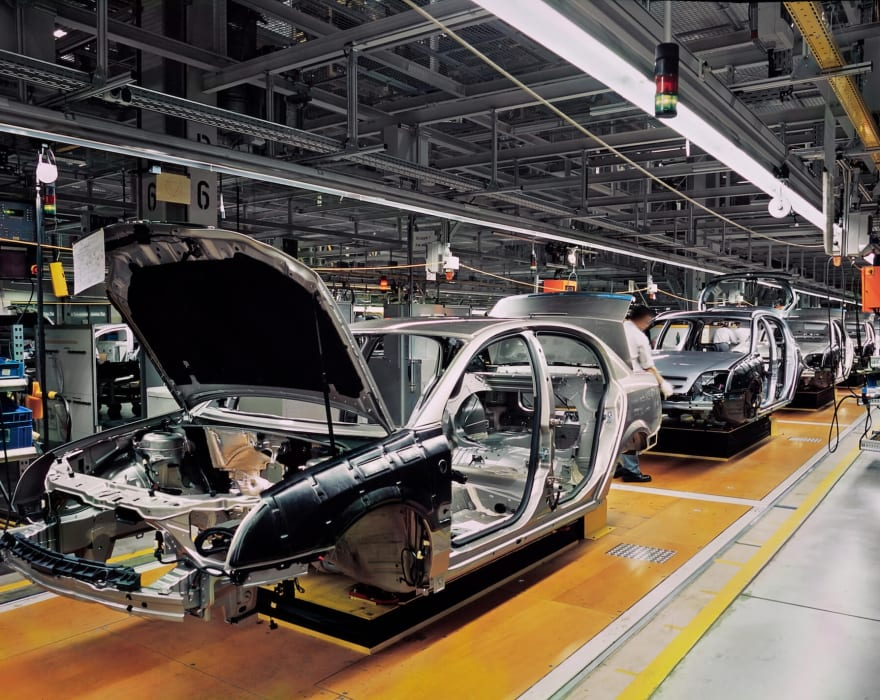 car plant automotive industry